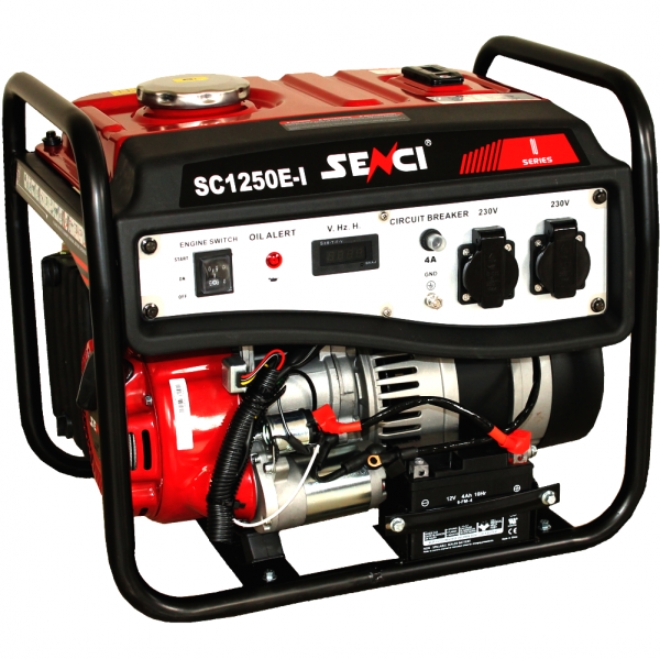 Generator curent monofazat SENCI SC 1250E Putere max. 1.0 kW