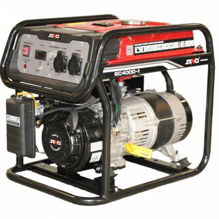 Generator curent monofazat SENCI SC 4000 Putere maxima 3.8 kw
