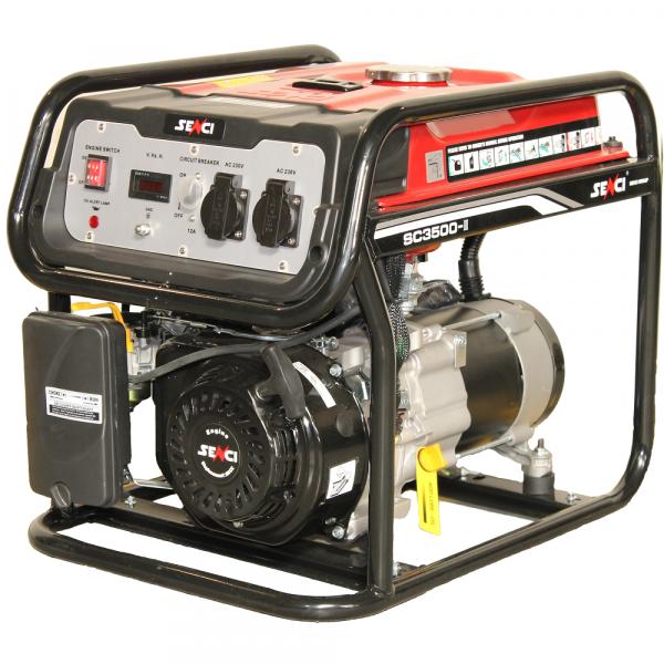 Generator de curent monofazat SC 3500 Putere max. 3.1 kW