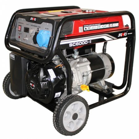 Generator de curent monofazat SENCI SC 6000 putere maxima 5.5 kW