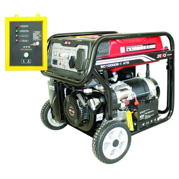 Generator de curent monofazat Senci SC 10000E ATS Putere maxim 7.0 kw cu automatizare