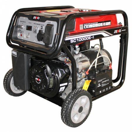 Generator de curent monofazat senci SC 10000E Putere maxima 8.5 kw AVR pornire electrica